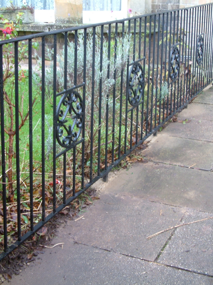 Garden Railings, Taunton, Somerset