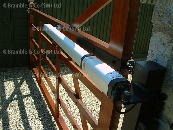 Above Ground Automation for 5 bar Gates,Somerset,Devon