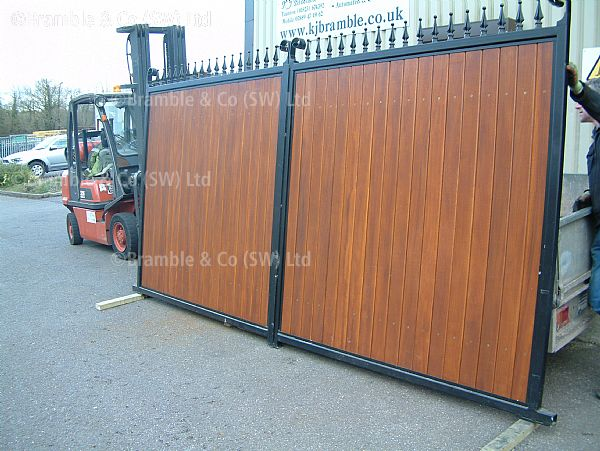 Somerset Wooden Gates