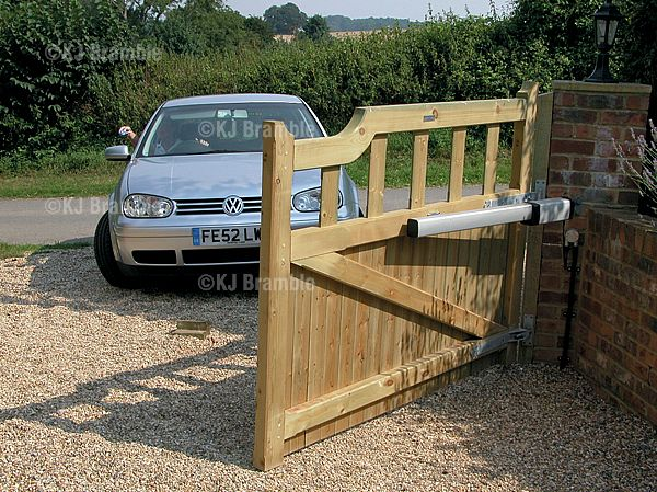 Wooden Gates,Above ground automation, Somerset