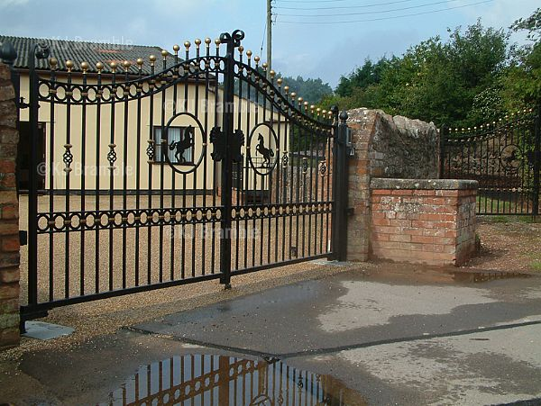 Electric Iron Gates,Fitting Service,Somerset