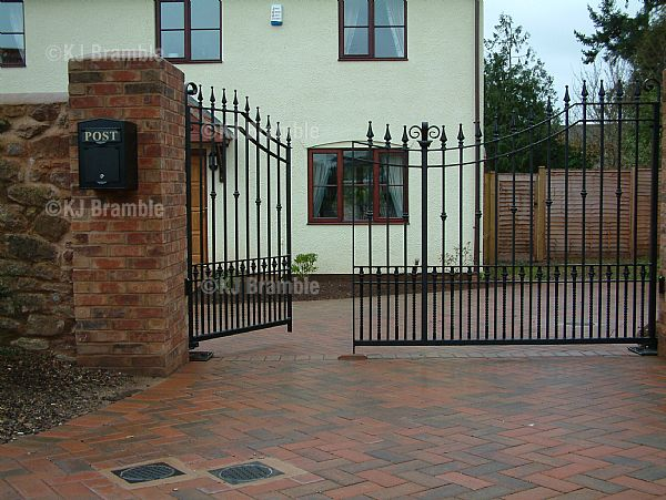Black Gates,Hand Crafted,Somerset