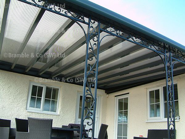 Wrought Iron Verandahs,Taunton,Somerset.