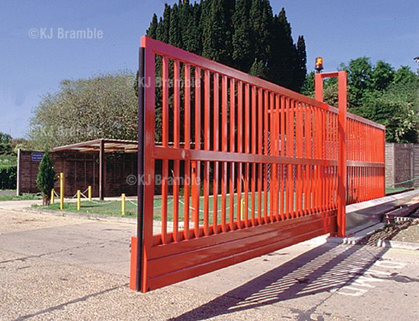 Slinding cantilever gate,Electric operated, Somerset