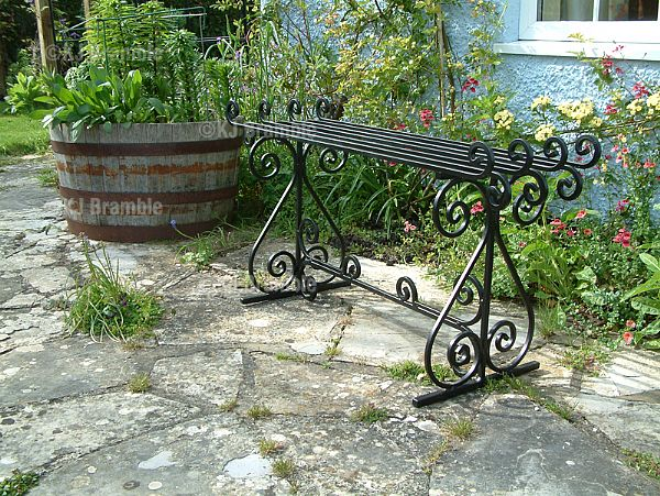 Iron Garden Benches.Somerset