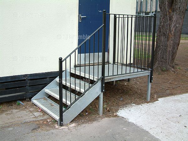 Mobile Classroom Steps,Somerset