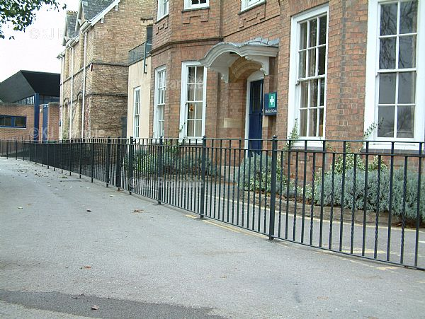 Simple Railings,Metal Railings, Somerset
