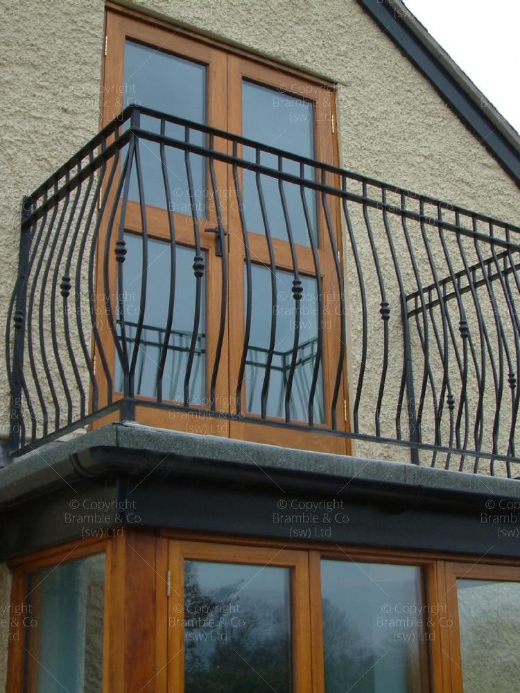 Flat Roof Railings, Somerset and Devon