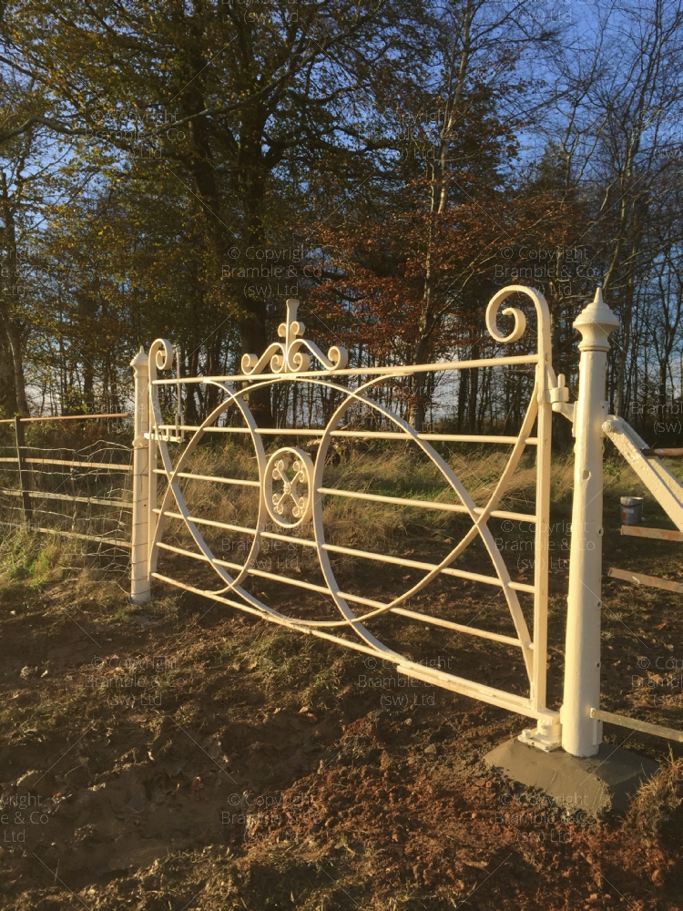 Old Iron Estate Field Gate, Somerset