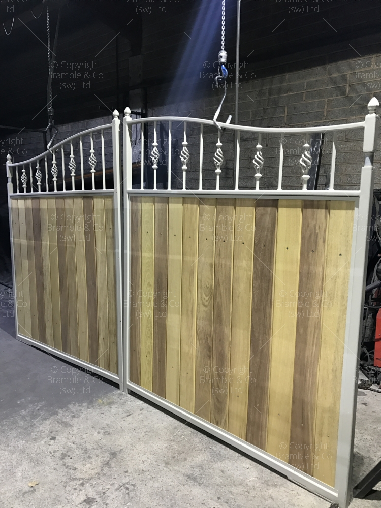 Ready Made Wooden Gates