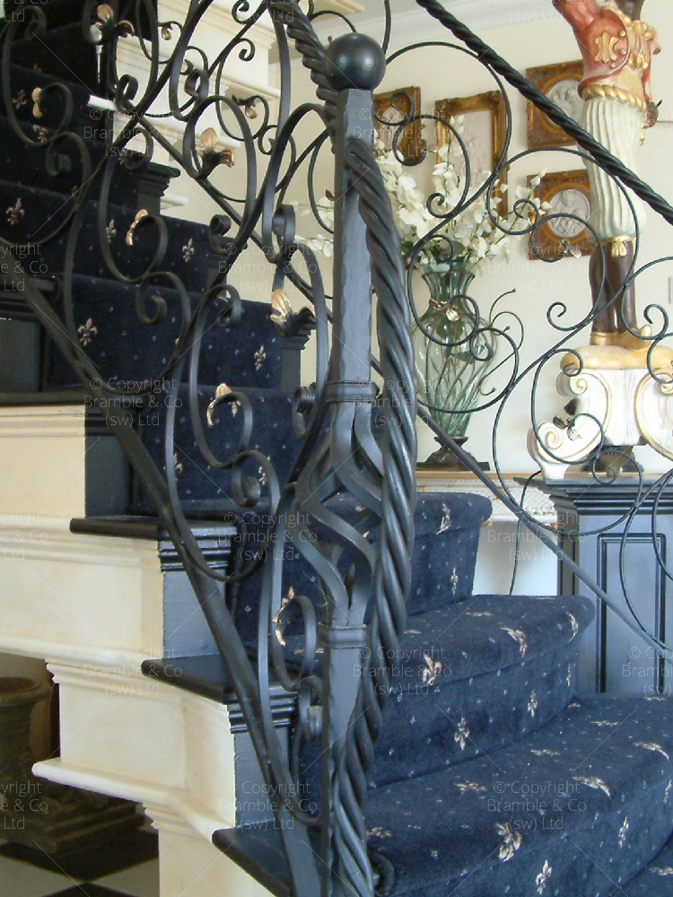 Solid Steel Iron Staircases, Taunton, Somerset