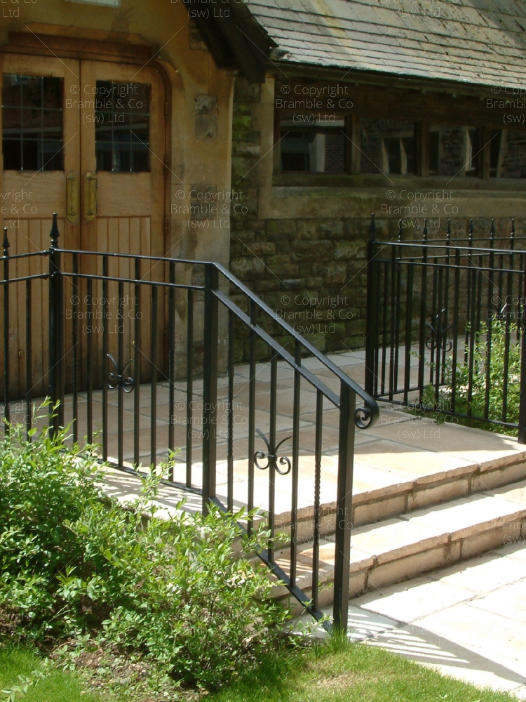 Iron Railings, South West England.