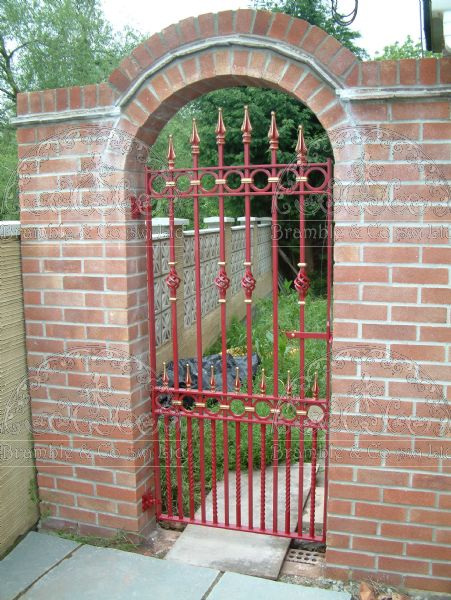 House Side Gate between walls, Somerset